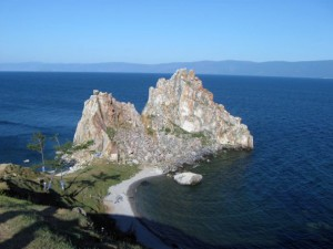 гора шаманка остров Ольхон на Байкале